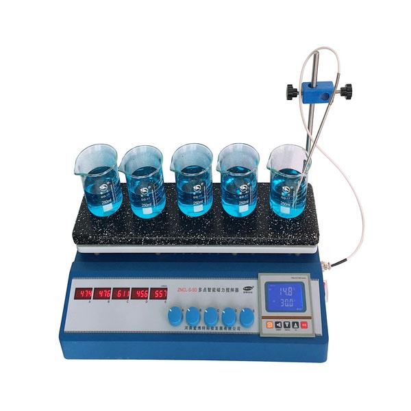 ZNCL-S- 5(10)DCX 程序多点磁力(加热板)搅拌器