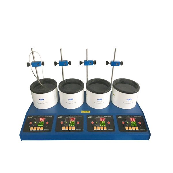 ZNCL-DL-GX4型 数显多联磁力(加热锅)搅拌器