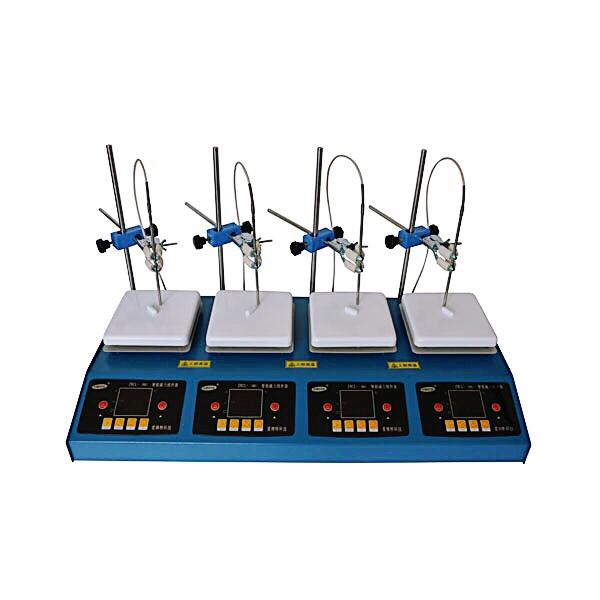 ZNCL-16-F4型 四联数显磁力(加热板)搅拌器