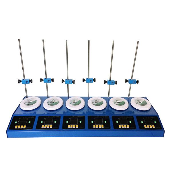 CJB-DS-DL6型 六联数显磁力搅拌器