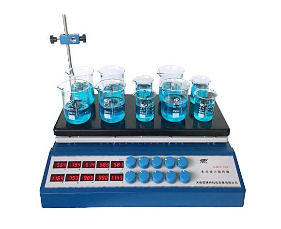 CJB-S-10D (新款) 数显十点磁力搅拌器